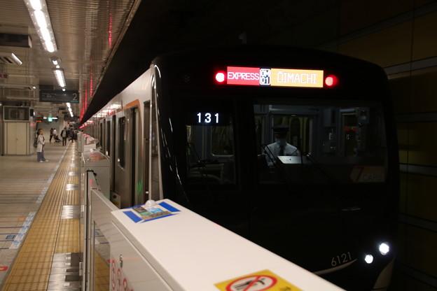 東急6020系 中央林間駅停車中