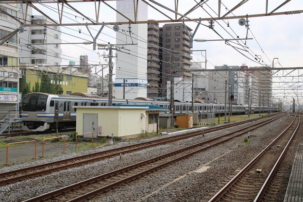 2021.6.26 平塚駅留置中 E217系Y125以下15両