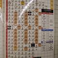 Photos: 都営地下鉄浅草線 戸越駅 時刻表