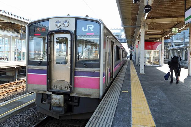 田沢湖線701系@大曲駅