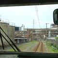 Photos: 工場の敷地内!?