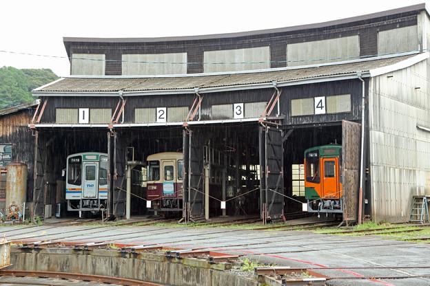 扇型車庫@天竜二俣駅
