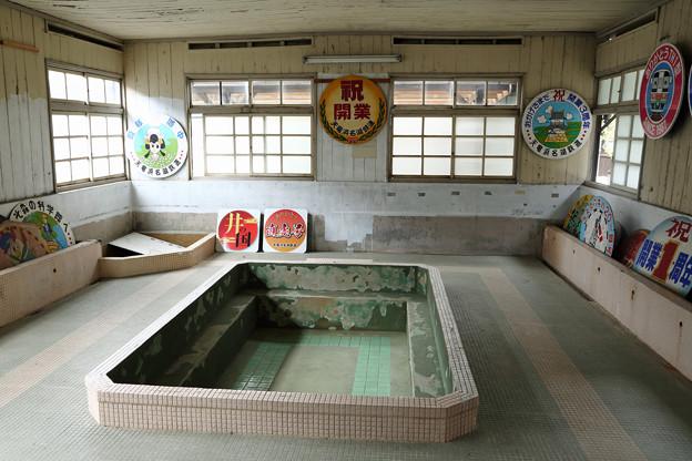 天竜二俣駅の大浴場