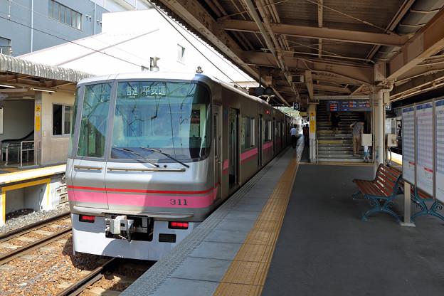 名鉄300系@犬山駅