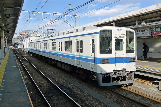 東武8000系@曳舟駅