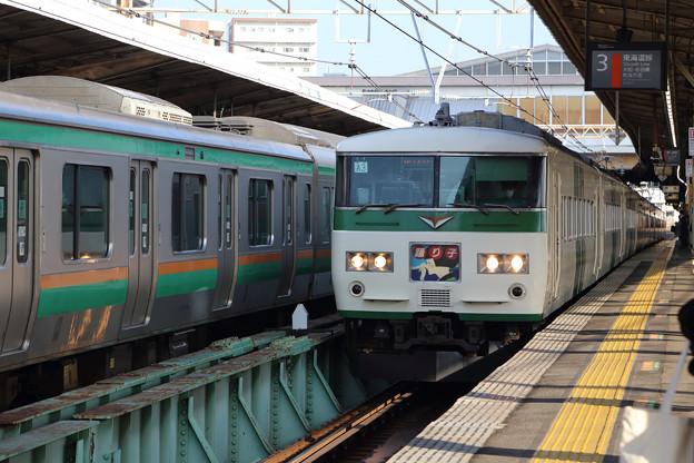 185系@戸塚駅