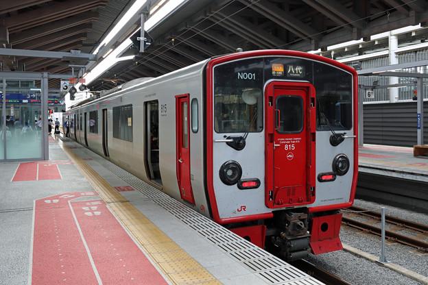 815系@熊本駅