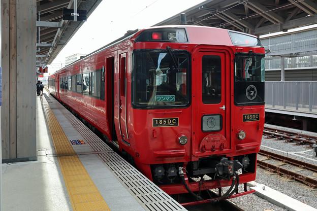九州横断特急3号@熊本駅