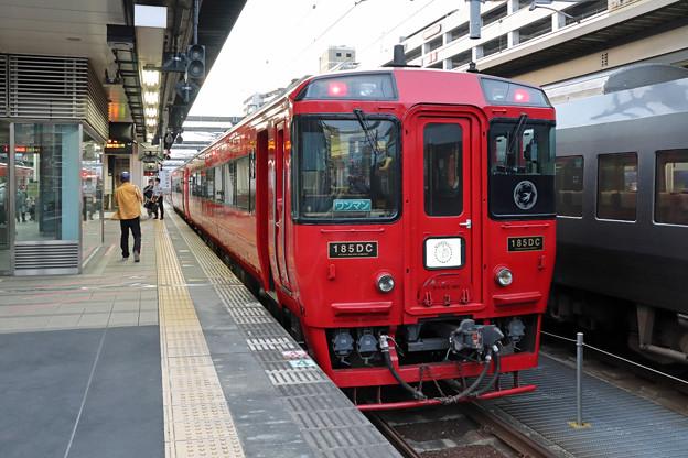 九州横断特急@大分駅