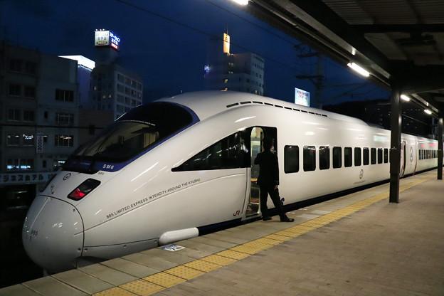 885系特急ソニック@別府駅