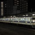 415系@別府駅