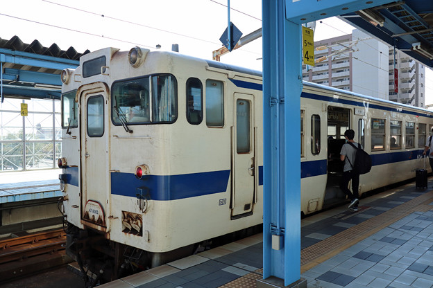 キハ47@宮崎駅