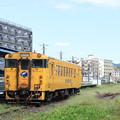 志布志駅のキハ40