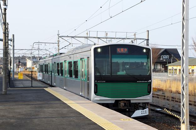 EV-E301系@宝積寺駅