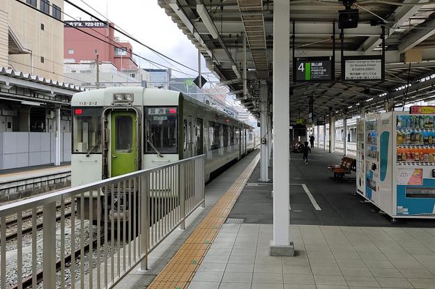 飯山線キハ112@長野駅