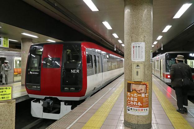 特急スノーモンキー@長野駅