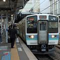 Photos: 信濃大町発富士見行き@松本駅