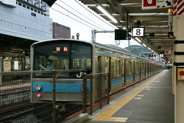 奈良線205系@京都駅