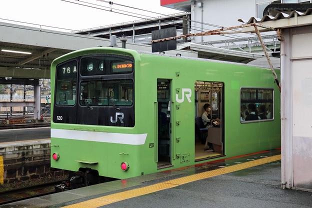 関西本線201系@王寺駅