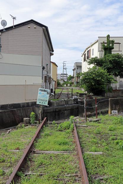 紀州鉄道の廃線跡