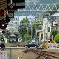 Photos: キハ25留置線から本線へ