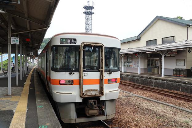 キハ25@熊野市駅