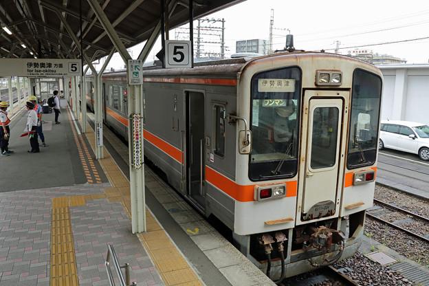 名松線伊勢奥津行き@松阪駅