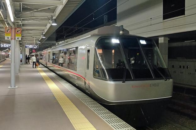 ロマンスカーEXEα@小田原駅