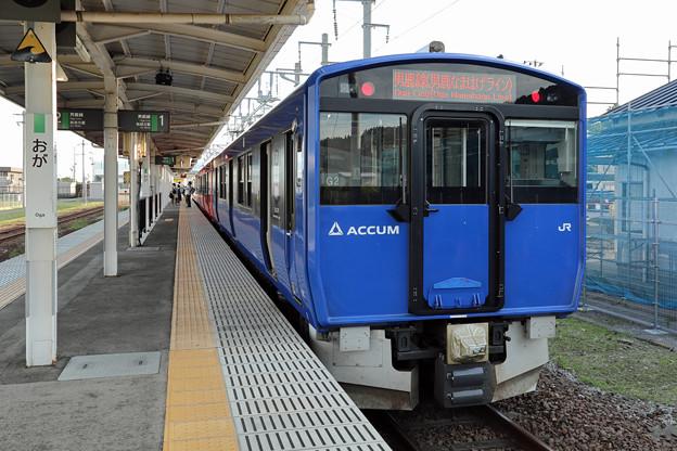 EV-E801系@男鹿駅