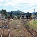 Photos: 阿仁合駅を出発
