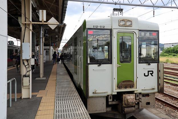 キハ112@大館駅