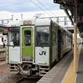 Photos: 北上線キハ100@横手駅