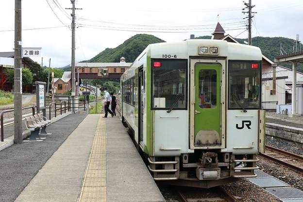 キハ100@ほっとゆだ駅