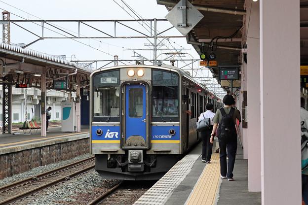IGR7000系@北上駅
