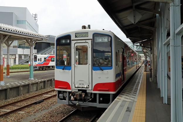 三陸鉄道36-700形@宮古駅