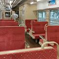 三陸鉄道の車内@釜石駅