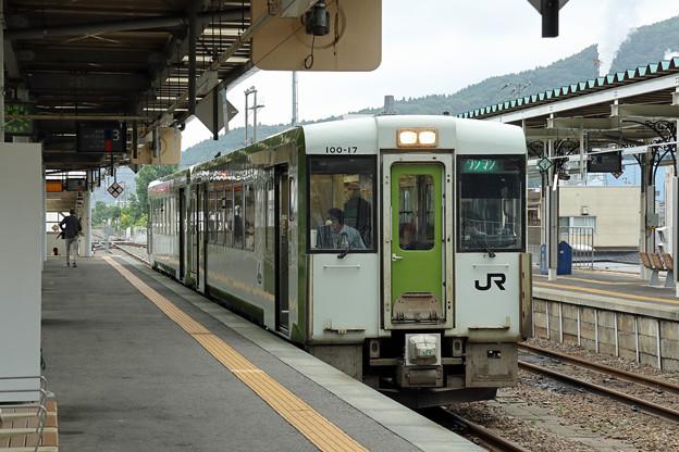 キハ100@釜石駅