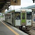 Photos: キハ100@釜石駅