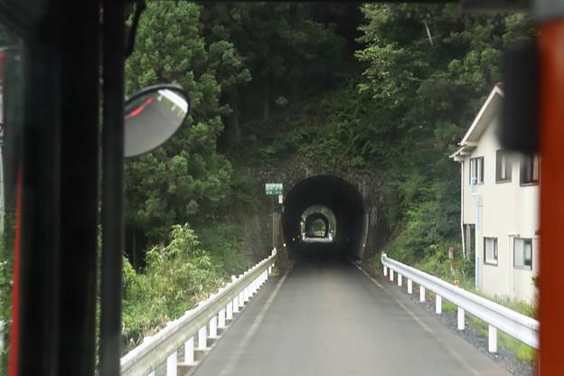 BRT大船渡線のトンネル