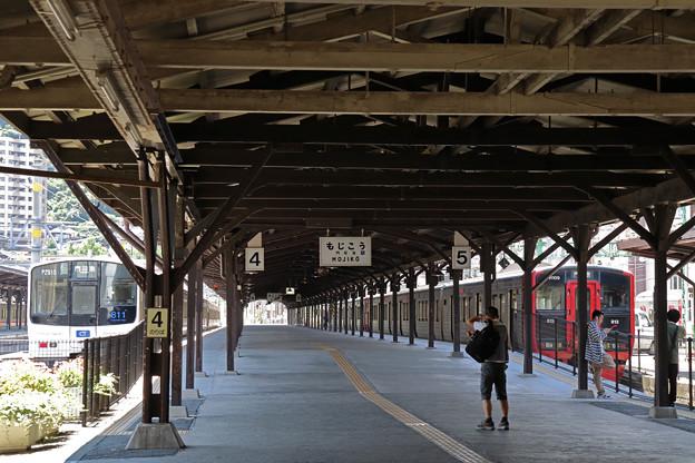 門司港駅のホーム