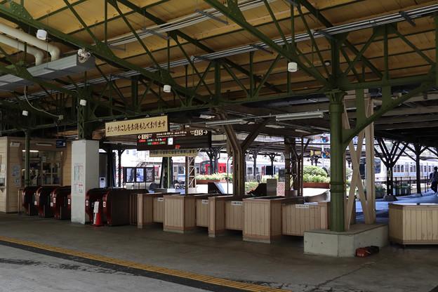 門司港駅の改札