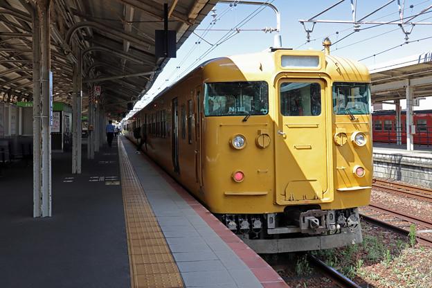 115系3000番台@下関駅