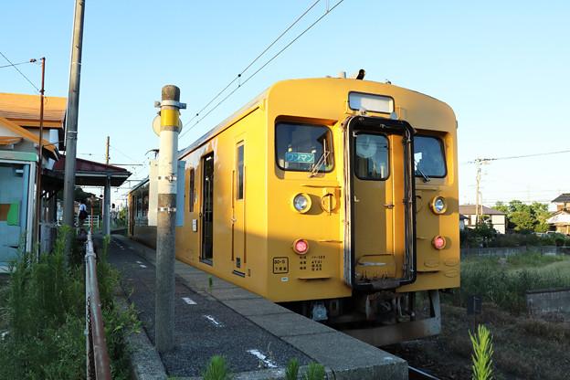 クモハ123@雀田駅