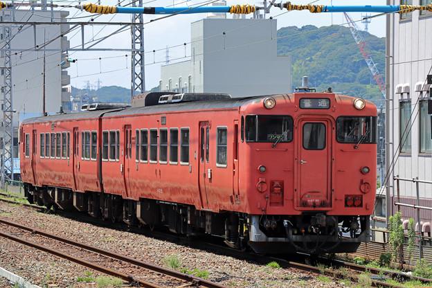 キハ47@下関駅