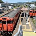Photos: キハ40系@小串駅