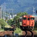 Photos: 益田行きキハ40@東萩駅