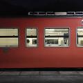 Photos: 夜の列車交換@三谷駅