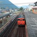 早朝の山口駅