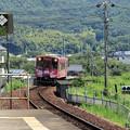 錦川鉄道NT3000@川西駅
