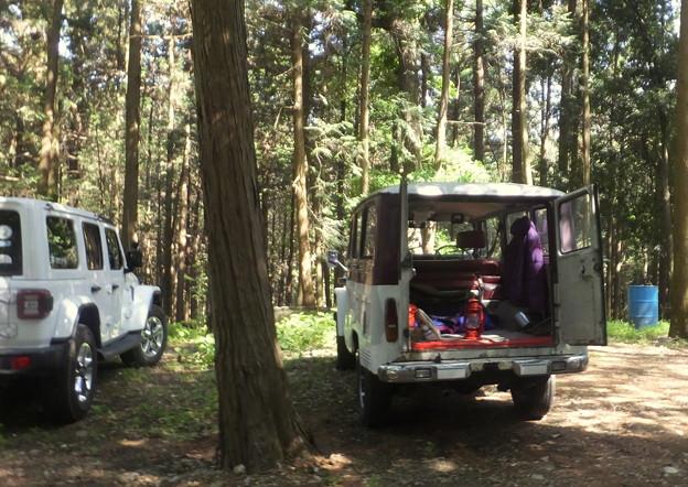 準備中の30系Jeepワゴン